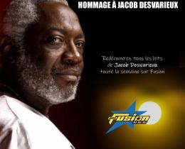 Toute cette semaine Hommage à Jacob Desvarieux sur Fusion