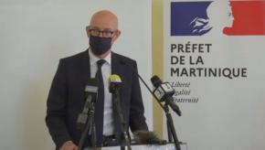 Covid-19 : renforcement du confinement en Martinique annoncé par Stanislas Cazelles