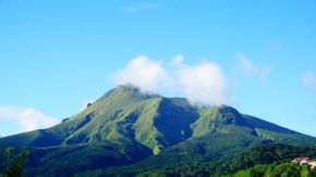 La Montagne Pelée a fortement augmenté dans la période du 23 au 30 avril dernier.