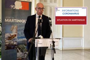 COVID 19 : 724 nouveaux cas en Martinique